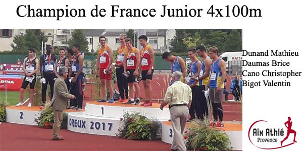 champion de france 2017 dreux